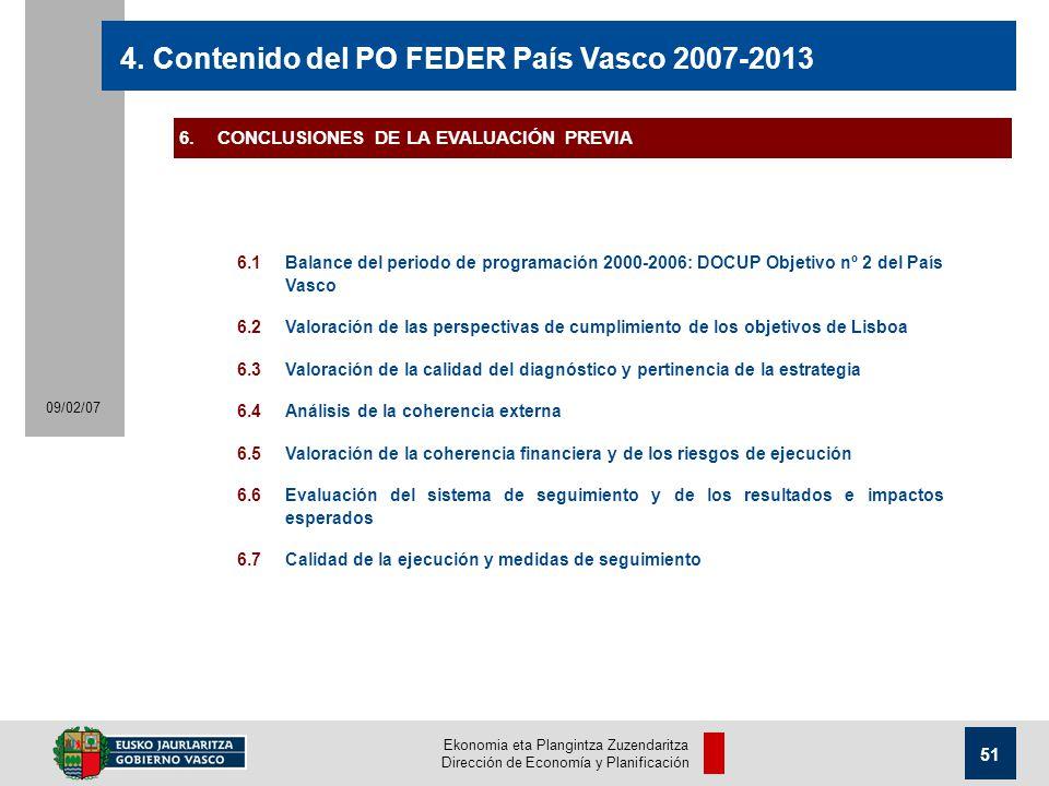 Ekonomia eta Plangintza Zuzendaritza Dirección de Economía y Planificación 51 09/02/07 4.