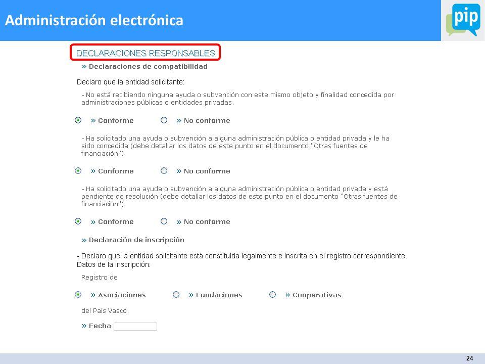 24 Administración electrónica