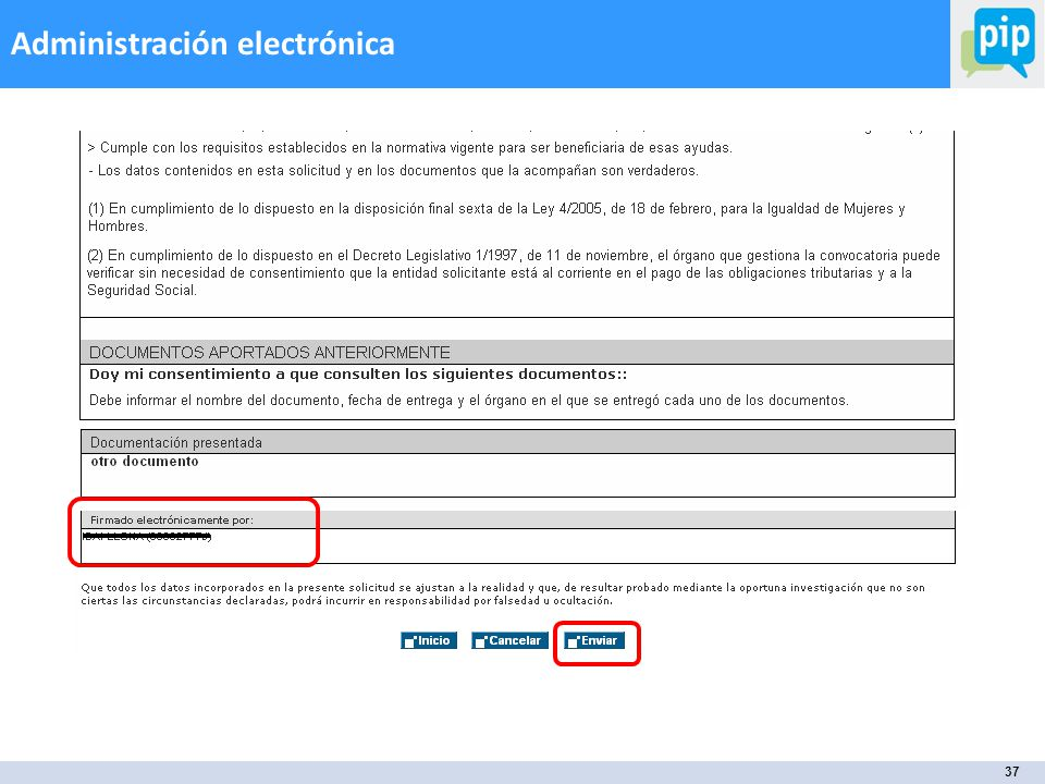 37 Administración electrónica