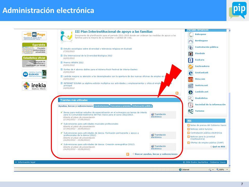 7 Administración electrónica