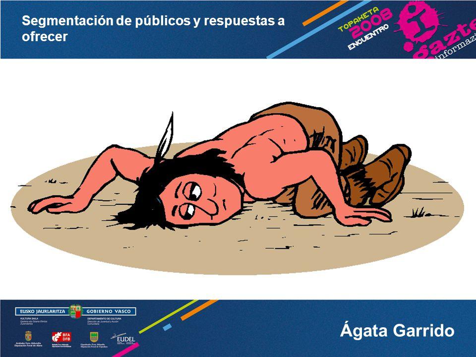 Segmentación de públicos y respuestas a ofrecer Ágata Garrido 4.
