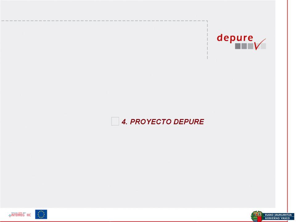 Ekonomia eta Plangintza Zuzendaritza / Dirección de Economía y Planificación 4. PROYECTO DEPURE