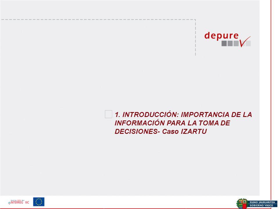 Ekonomia eta Plangintza Zuzendaritza / Dirección de Economía y Planificación 1. INTRODUCCIÓN: IMPORTANCIA DE LA INFORMACIÓN PARA LA TOMA DE DECISIONES