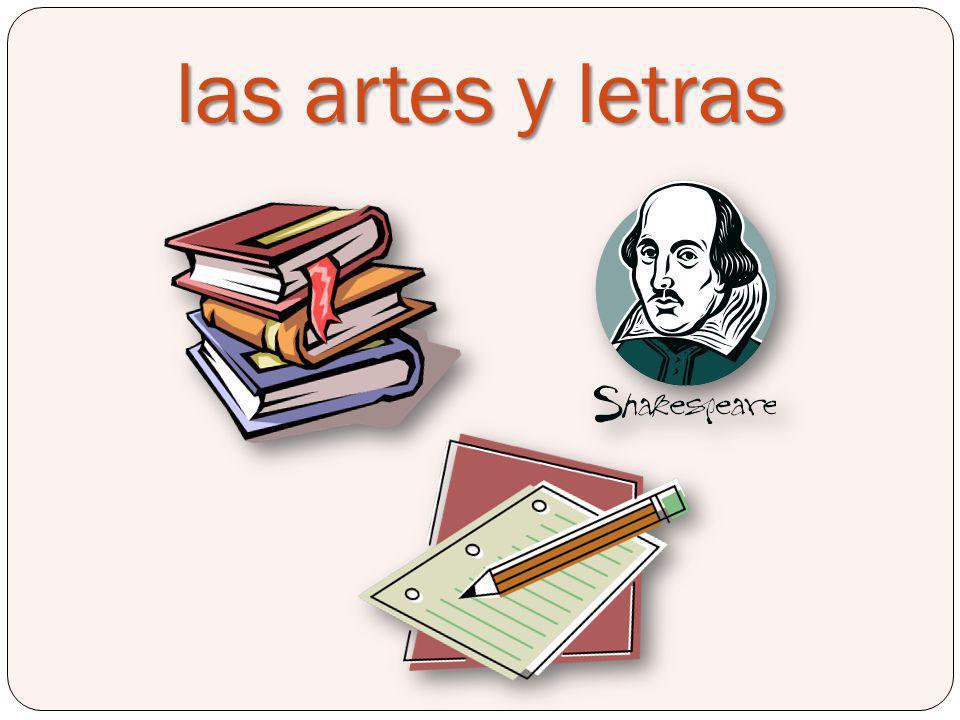 las artes y letras