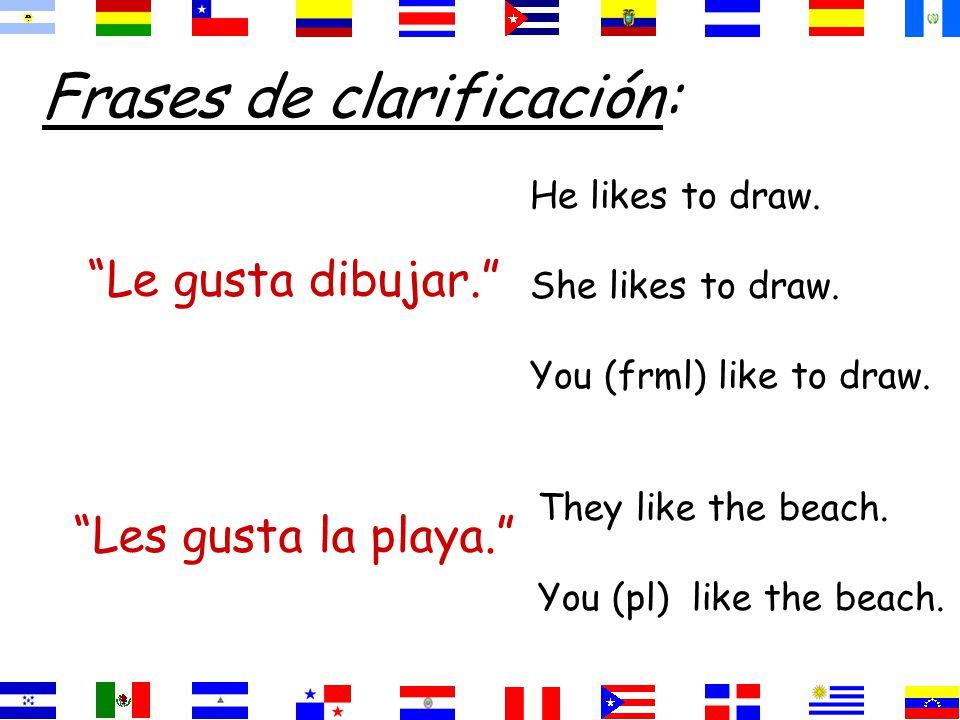 Gusta=singular nouns =infinitives (verbs) Gustan=plural nouns
