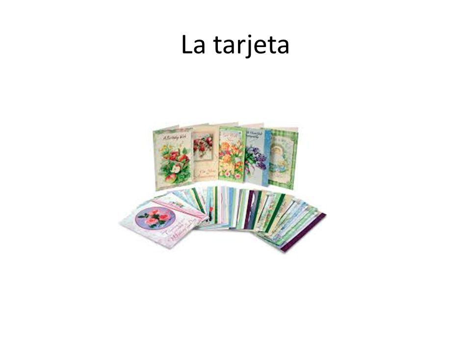 La tarjeta
