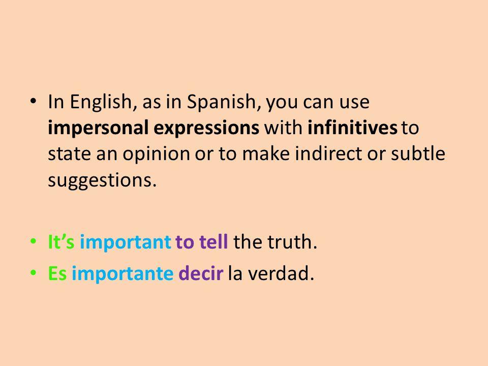 Step 1: usted/él/ella form of the verb ser (The verb ser can be in any tense.) Es (present) Fue (preterite) Era (imperfect) Va a ser (future)