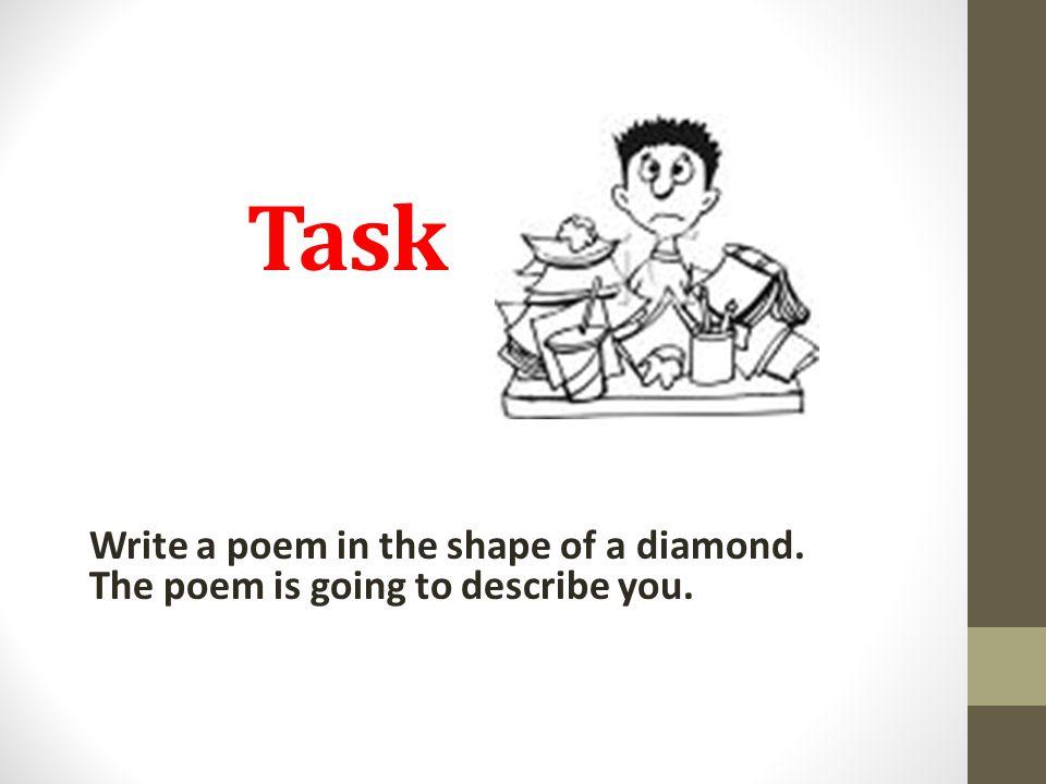 Write the following: 1.Escribe tu nombre.2.Escribe dos adjetivos que no to describen.
