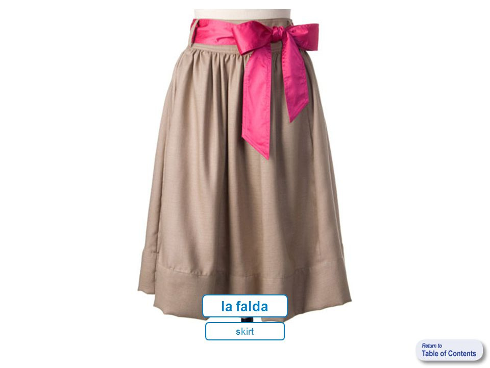 la talla clothing size