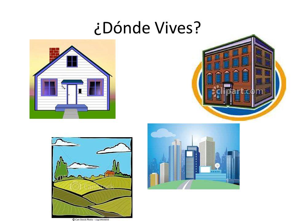 ¿Vives en… La ciudad?
