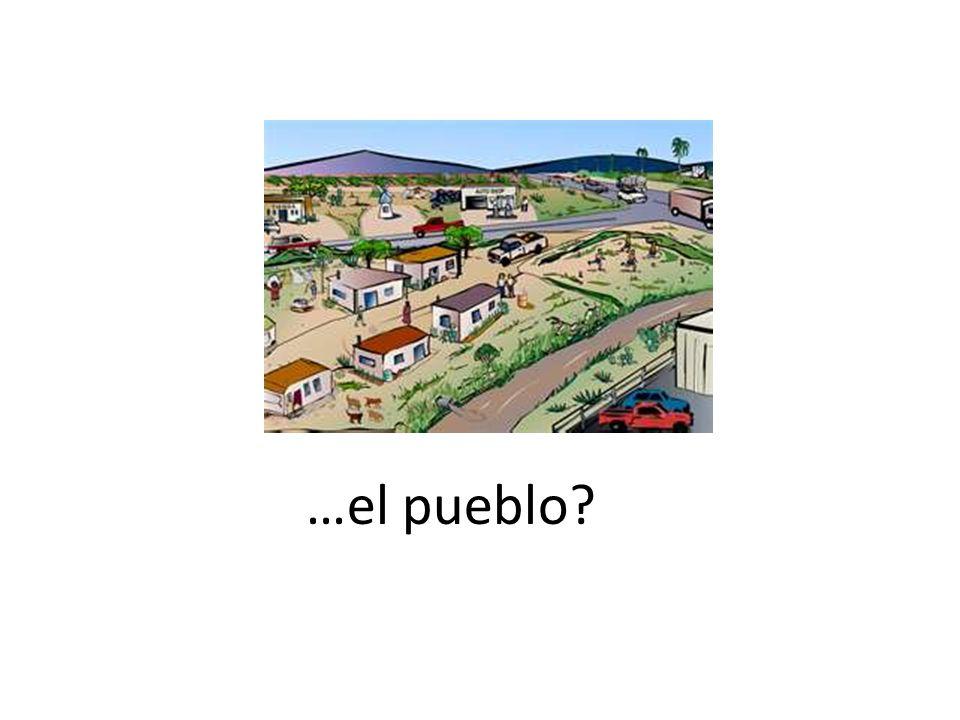 …el pueblo?