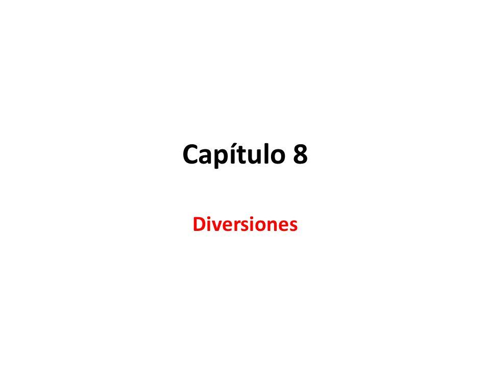 Capítulo 8 Diversiones