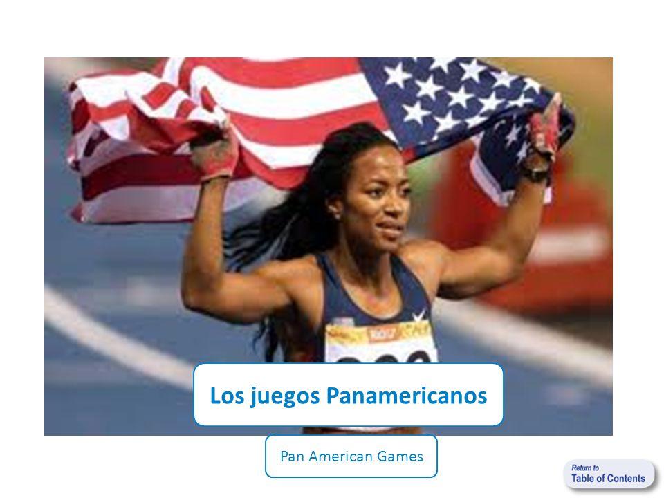 Los juegos Panamericanos Pan American Games