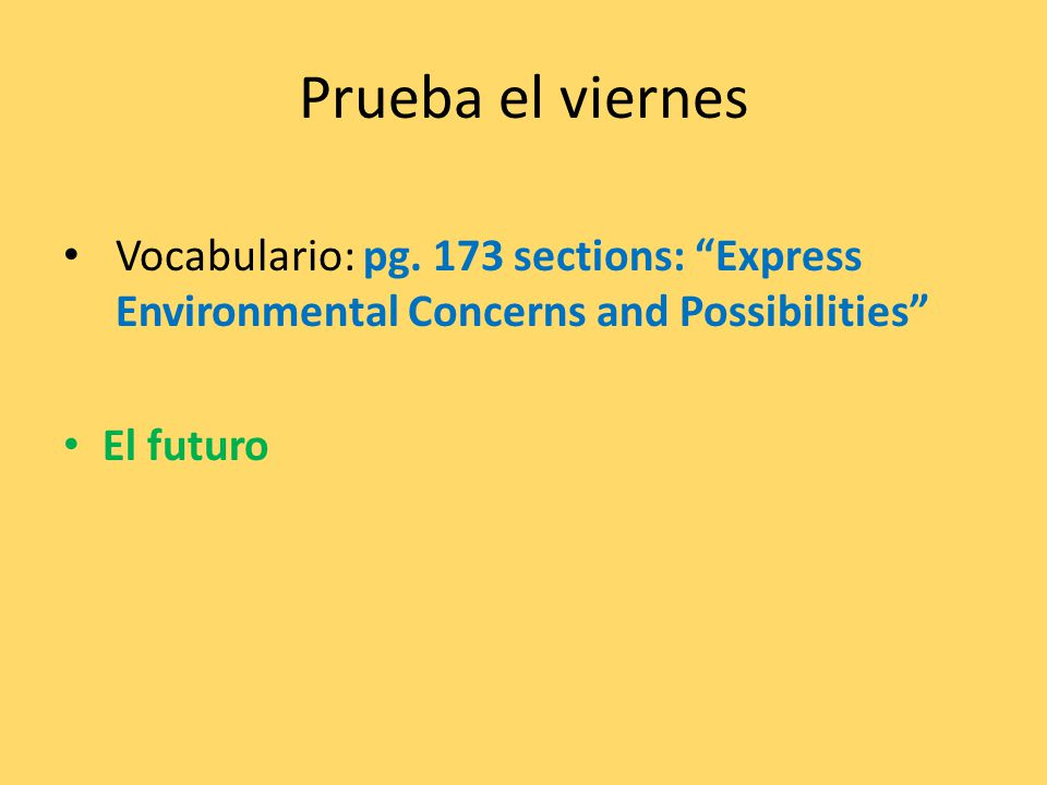 The future tense: We already know the future tense is made up of three parts: ++