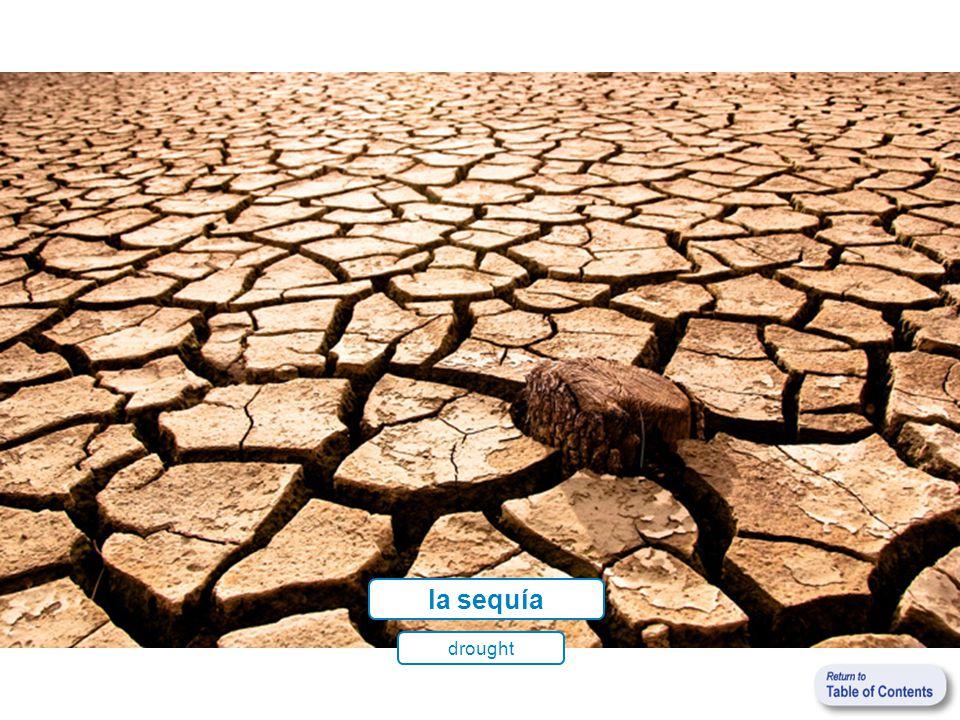 la sequía drought