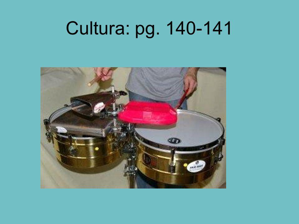 Cultura: pg. 140-141