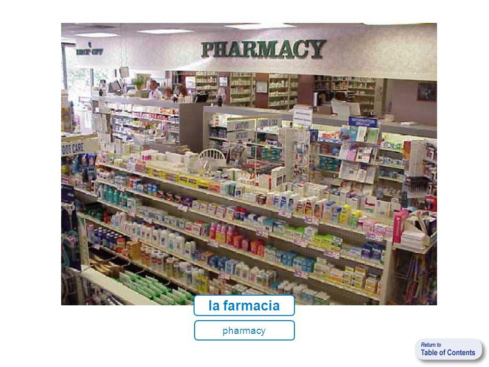 la farmacia pharmacy