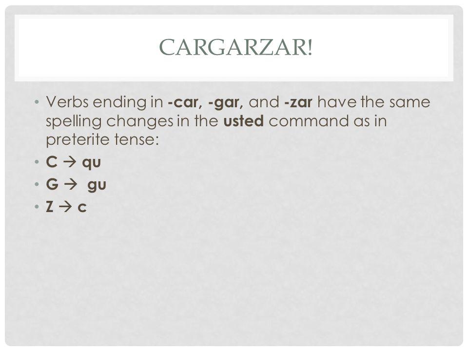 CARGARZAR.