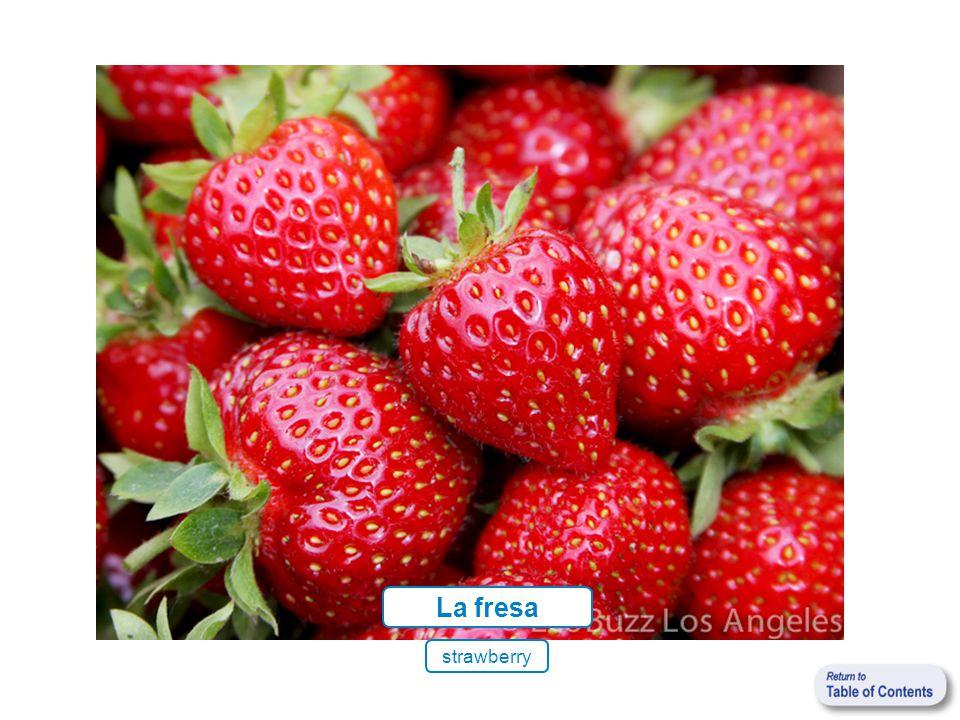 La fresa strawberry