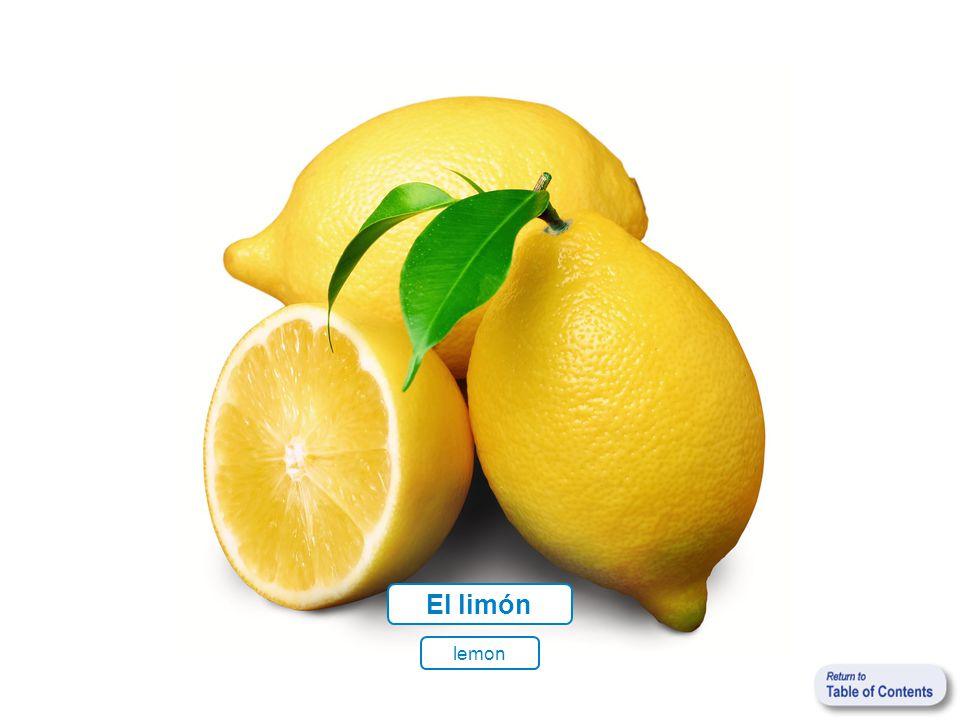 lemon El limón