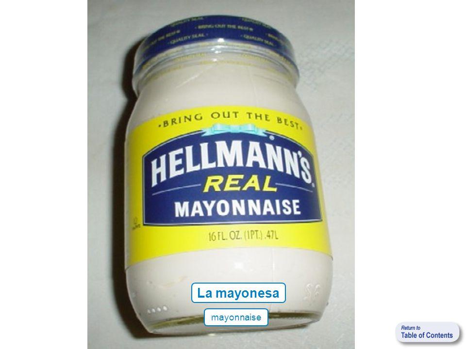 La mayonesa mayonnaise