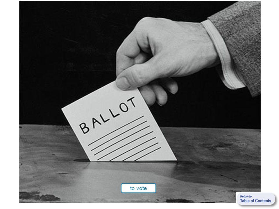 to vote