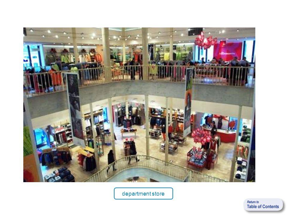 department store