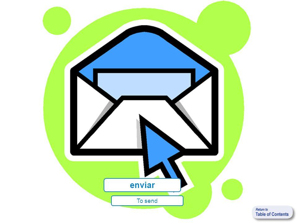 enviar To send