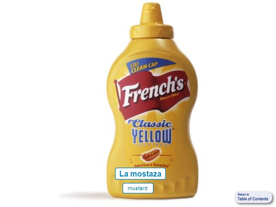La mostaza mustard
