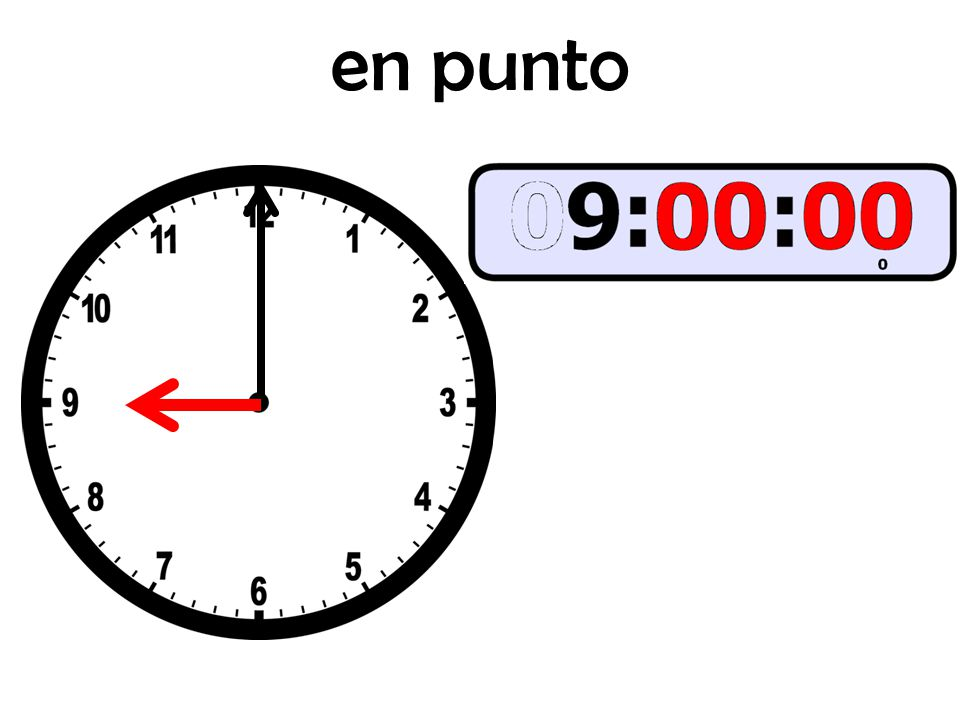 menos cuarto (cinco/diez/veinte) NOTA: If you are going to say menos any amount of time, subtract that from the NEXT hour.