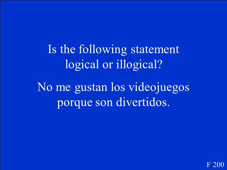 Sí, me gusta la música de Enrique Iglesias mucho. F 100