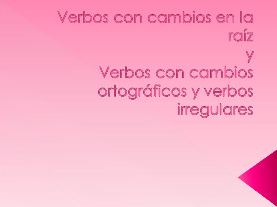 Verbs ending in –cer or –cir preceded by a vowel, add z before c in the first person singular Ofrecer: ofrezco, ofreces, ofreces, ofrecemos, ofrecen Other Verbs in this category: AgradecerEstablecerConducir AparecerObedecerDeducir ComplacerParecerIntroducir ConocerPermanecerProducir CrecerPertenecerReducir DesconocerReconocerTraducir