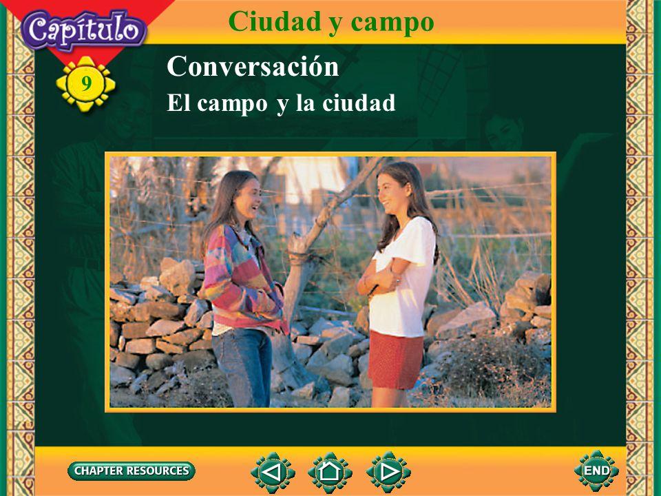 9 1. ¿Por qué quiere Cristina ver el plano de la ciudad? Answer: Quiere ver lo que van a hacer. 2. ¿Cómo es la Ciudad de México? Answer: Es grande. (E
