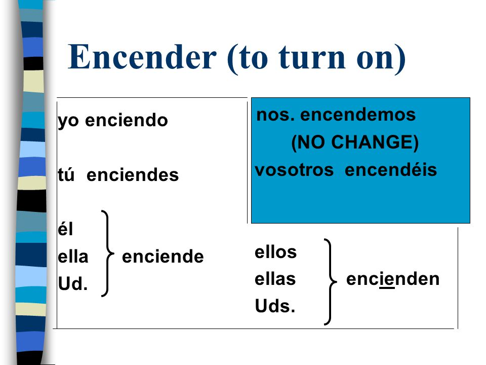 Empezar n The verb empezar is used with a when an infinitive follows n Example: Empiezo a estudiar (I am beginning to study)