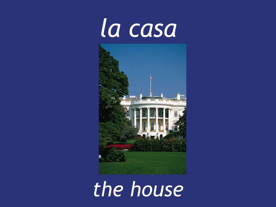la casa the house the house