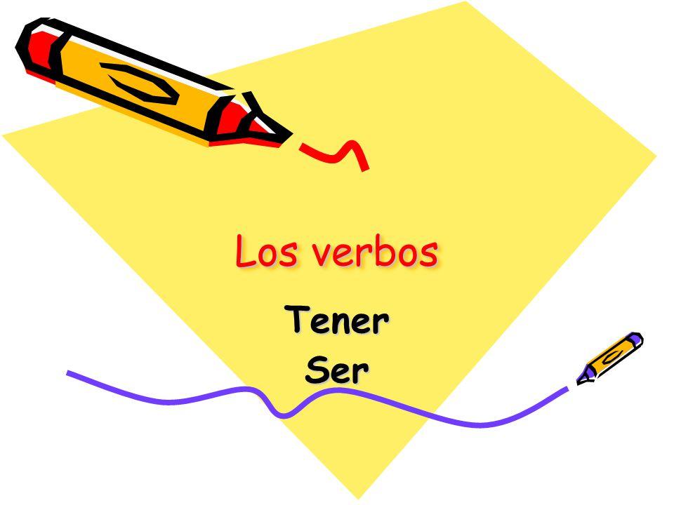 Los verbos TenerSer