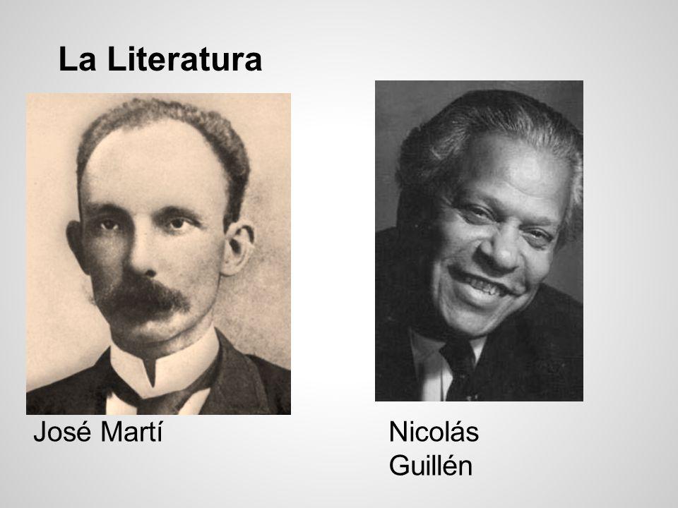 La Literatura José MartíNicolás Guillén