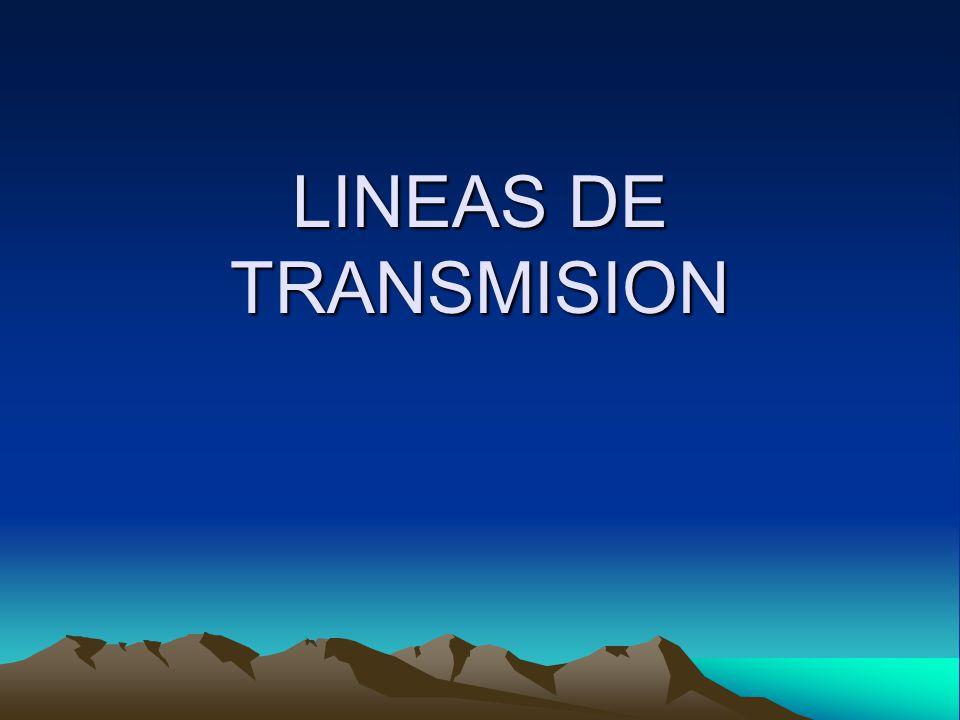 CIRCUITO EQUIVALENTE Líneas Distribuidas uniformemente 1.Propiedades Eléctricas *Conductancia de los cables *Constante dieléctrica del aislante 2.