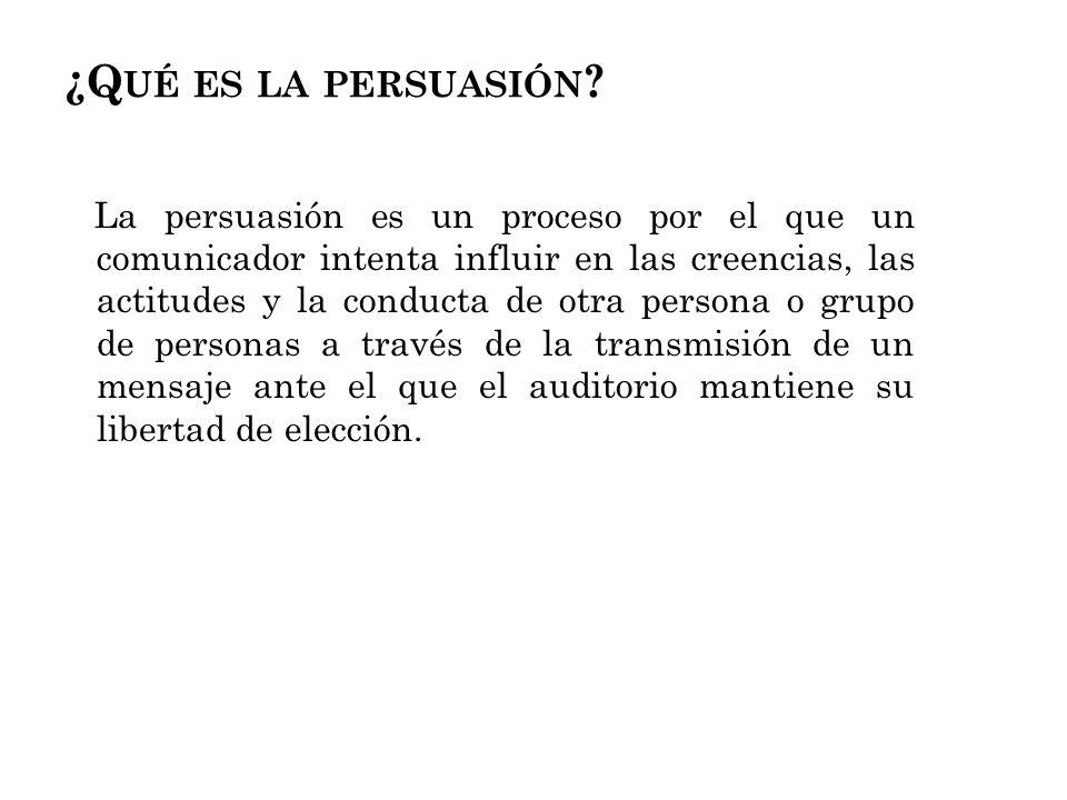 DIFERENCIA ENTRE PERSUASIÓN Y MANIPULACIÓN