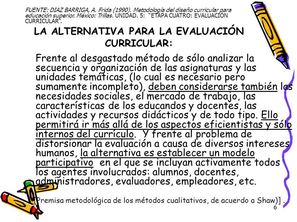 17 SUBETAPA 4.3 Reestructuración curricular Actividades.