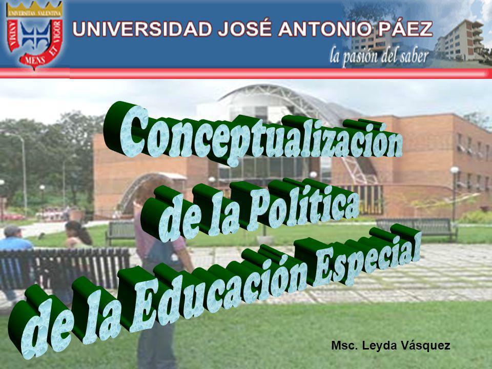 R.General, LOE. Cap. IV. 1986 Art. 33: Relacionado con las políticas y los programas de EE Art.