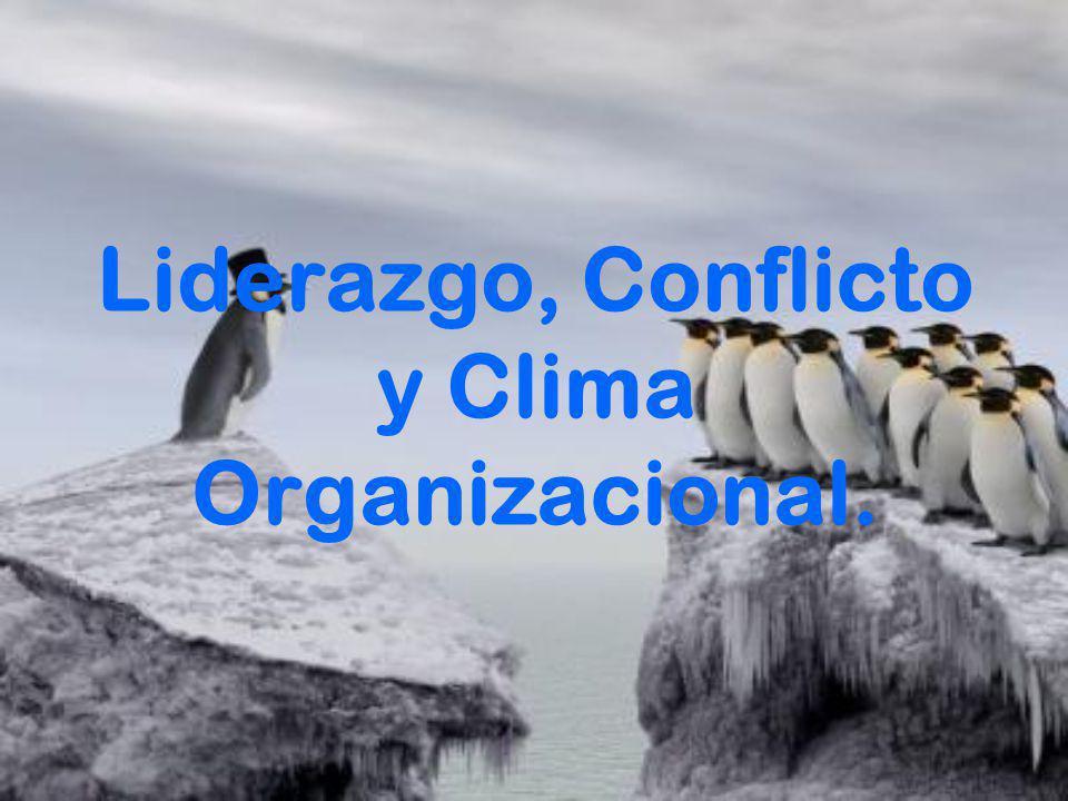 Clima Organizacional Un buen clima o un mal clima organizacional, tendrá consecuencias para la organización a nivel positivo y negativo: A nivel Positivo: podemos nombrar (logro, afiliación, Satisfacción etc.).