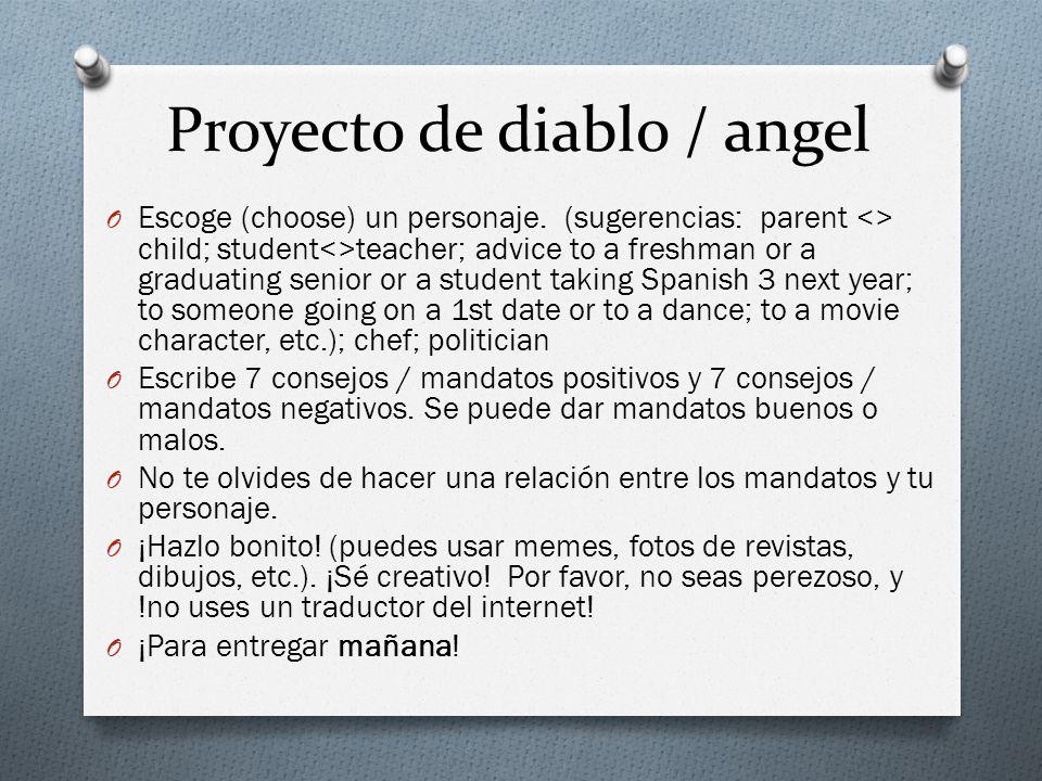 Proyecto de diablo / angel O Escoge (choose) un personaje.