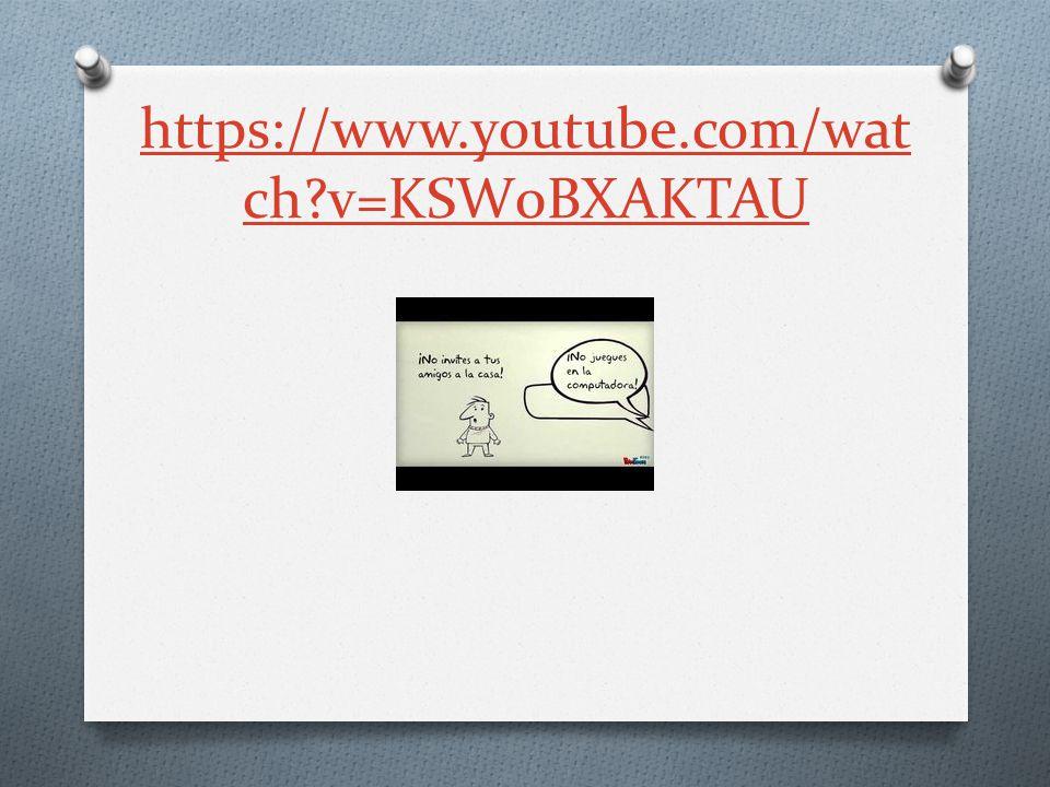 https://www.youtube.com/wat ch v=KSW0BXAKTAU