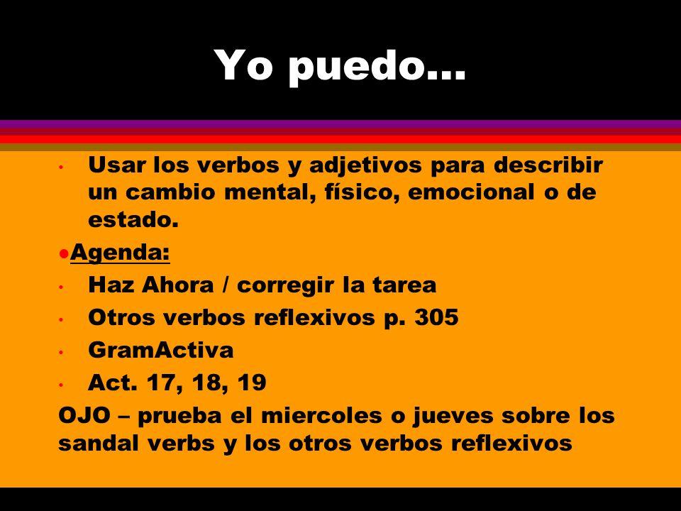 Escoge el verbo correcto y usa el pretérito. Escoge el verbo correcto y usa el pretérito. 1. El niño _____ a su mama cuando no le dijo la verdad a ell