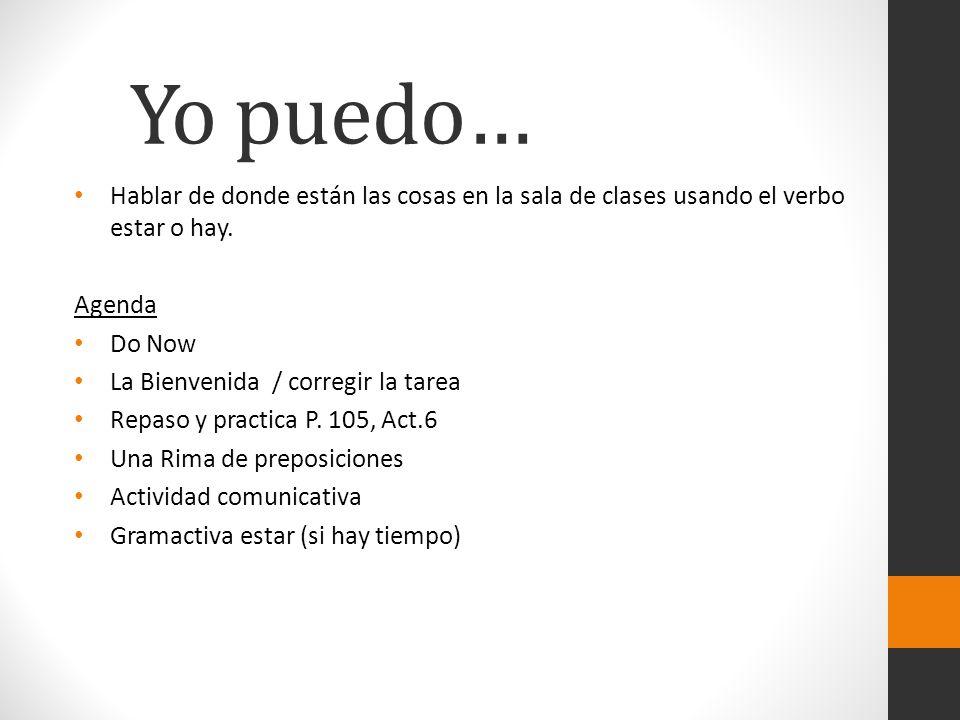 Ejemplos vivos El / La / Los / Las _________ Tortuga Tigre Estudiante DVD Reloj Etc.