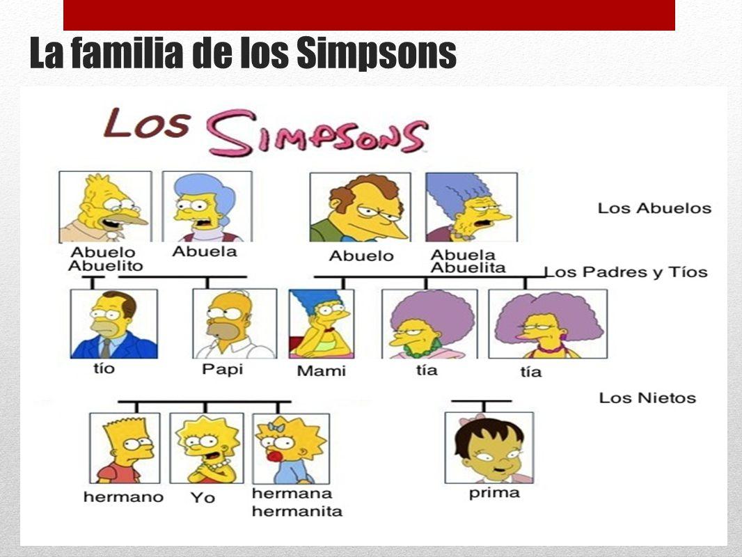 La familia de los Simpsons