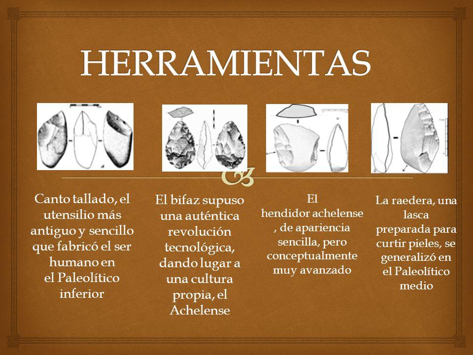 Canto tallado, el utensilio más antiguo y sencillo que fabricó el ser humano en el Paleolítico inferior El bifaz supuso una auténtica revolución tecno