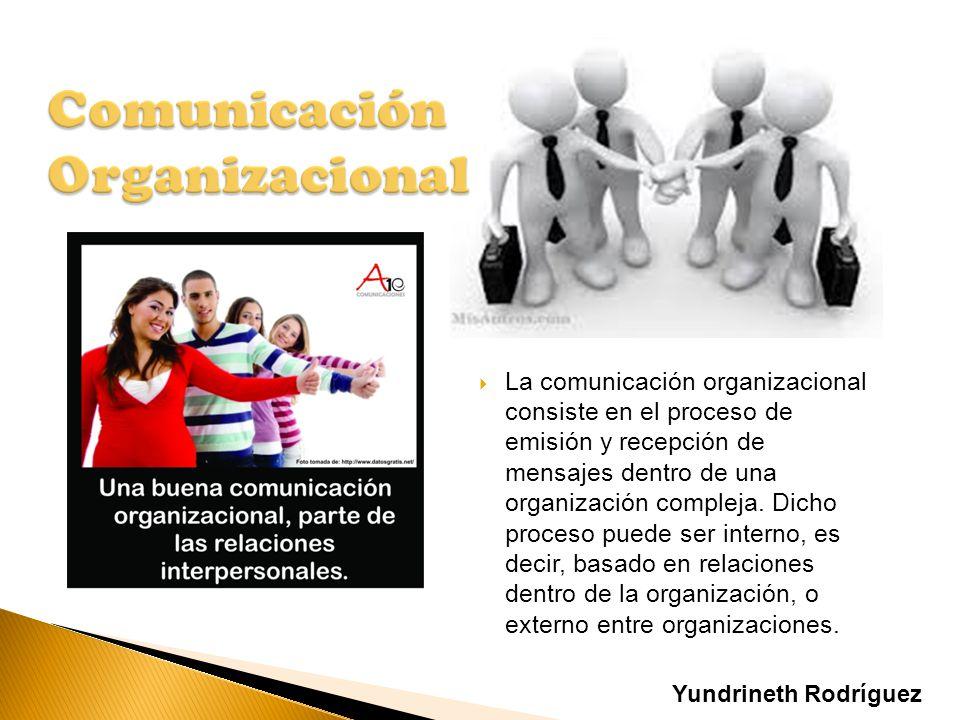 La comunicación organizacional consiste en el proceso de emisión y recepción de mensajes dentro de una organización compleja. Dicho proceso puede ser