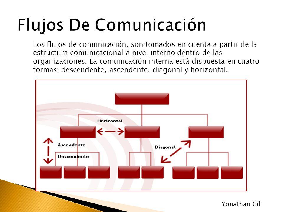 Los flujos de comunicación, son tomados en cuenta a partir de la estructura comunicacional a nivel interno dentro de las organizaciones. La comunicaci